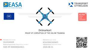 сертификат пилота